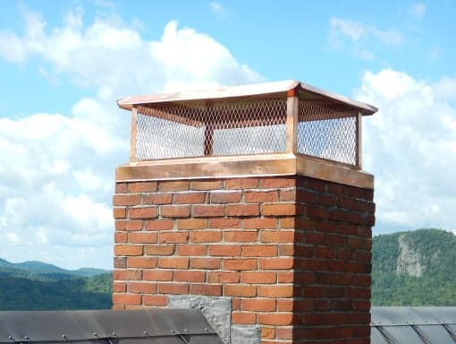 Cast In Place Chimney : Chimney cap savers vt